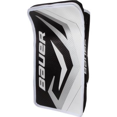 White/Black/Silver (Bauer Pro Series Street Goalie Blocker)