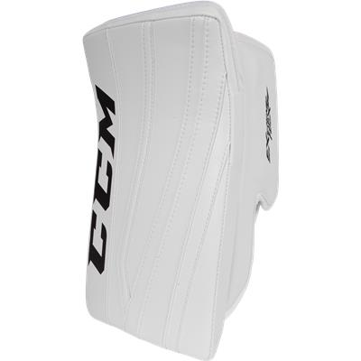 White/White/White (CCM Extreme Flex II Pro Goalie Blocker)