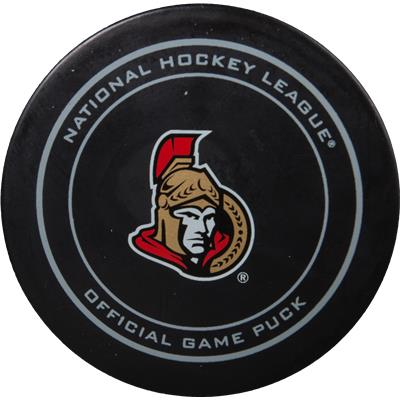 Ottawa Senators (Sher-Wood 2015 NHL Playoffs Official Team Puck)
