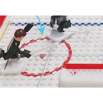 Smooth Ice Surface (OYO Sports NHL Team Buildable Hockey Rink)