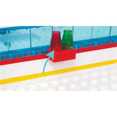 Goal and Period Signals (OYO Sports NHL Team Buildable Hockey Rink)
