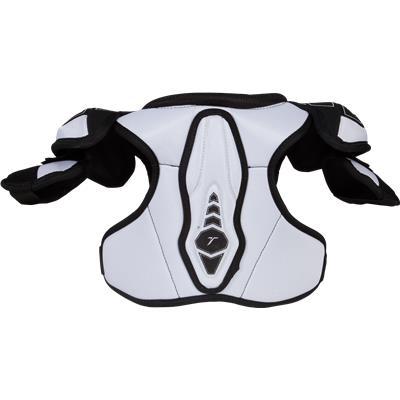 Back View (CCM Ultra Tacks Hockey Shoulder Pads)
