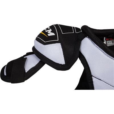 Arm Protection (CCM Ultra Tacks Hockey Shoulder Pads)