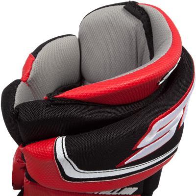 Back Cuff View (STX Stallion 500 Hockey Gloves)