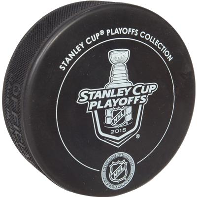 Back View (Sher-Wood Chicago Blackhawks 2015 Western Conference Champs Puck)