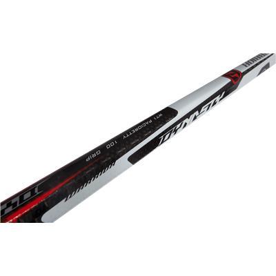 Top Of Shaft (Warrior Dynasty HD1 Grip Composite Hockey Stick)