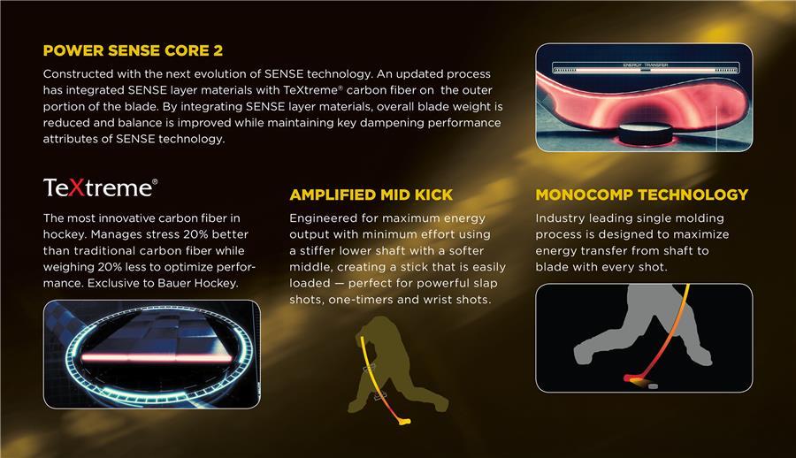 cb591d021e9 (Bauer Supreme TotalOne MX3 LE Grip Composite Stick - Senior)