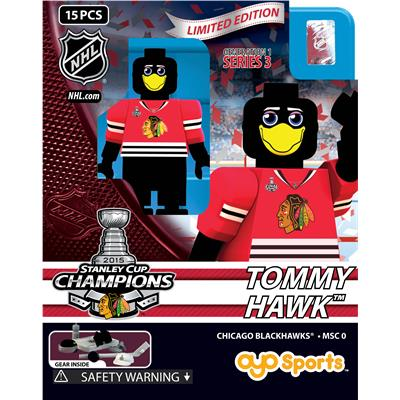 Tommy Hawk (OYO Sports 2015 Stanley Cup Champions Chicago Blackhawks Limited Edition Mini Figures)