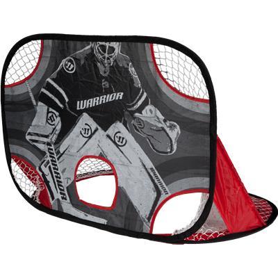 (Warrior Two Pop-Up Mini Hockey Nets w/ Sticks & Ball)