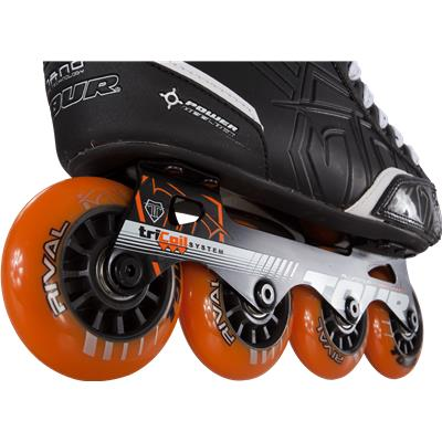 Wheel View (Tour Fish Bonelite 325 Inline Hockey Skates - Senior)