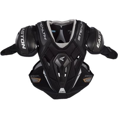 Front View (Easton Stealth C9.0 Hockey Shoulder Pads)