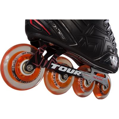Wheel View (Tour Fish Bonelite 725 LE Inline Hockey Skates - Senior)
