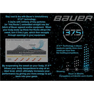 37.5™ Technology (Bauer Vapor 1X Ice Hockey Skates - Junior)