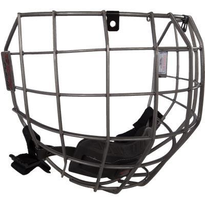 Gunmetal (CCM Fitlite FL80 Hockey Helmet Facemask)