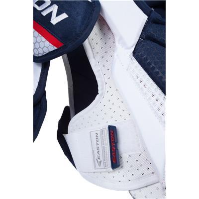 Velcro View (Easton Pro 10 Shoulder Pads)