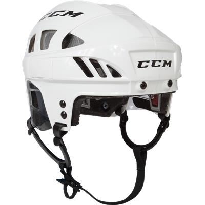 White/Silver (CCM Fitlite FL80 Hockey Helmet)
