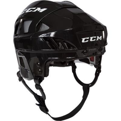 Black/Silver (CCM Fitlite FL80 Hockey Helmet)