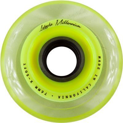 Yellow (Labeda Millennium Signature Inline Wheel (Yellow))