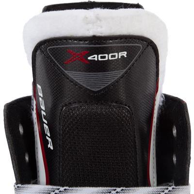 Tongue View (Bauer Vapor X400R Inline Skates)