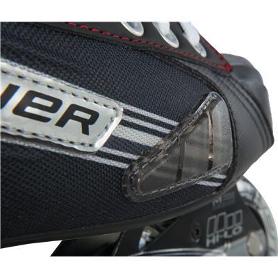 Toe Protection (Bauer Vapor X300R Inline Hockey Skates)