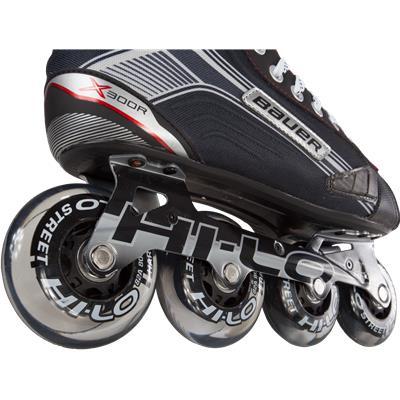 Wheel View (Bauer Vapor X300R Inline Hockey Skates)