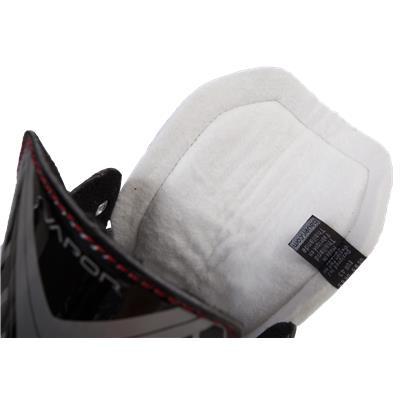 Inside Tongue View (Bauer Vapor X300R Inline Hockey Skates)