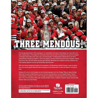 Back View (Hawks Dynasty: 2015 Stanley Cup Champion Chicago Blackhawks Book)