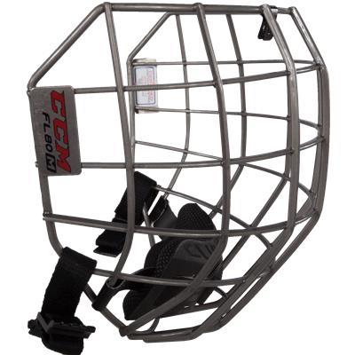 Side View (CCM Fitlite FL80 Hockey Helmet Facemask)