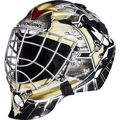 Pittsburgh Penguins (Franklin GFM1500 NHL Decal Street Hockey Goalie Mask)