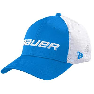 Blue (Bauer 39THIRTY Stretch Mesh Fitted Hat)