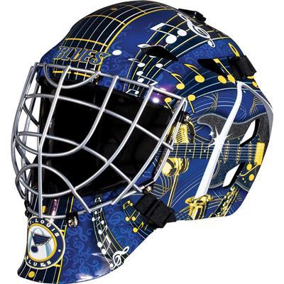 St. Louis Blues (Franklin GFM1500 NHL Decal Street Hockey Goalie Mask)