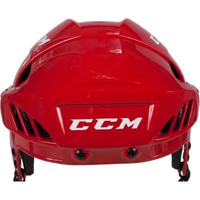 Front View (CCM Fitlite FL60 Hockey Helmet)