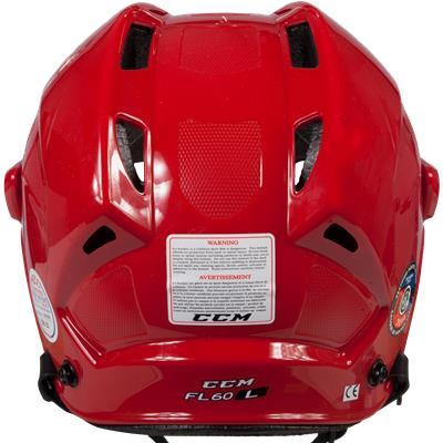 Back View (CCM Fitlite FL60 Hockey Helmet)