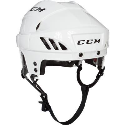 White (CCM Fitlite FL60 Hockey Helmet)