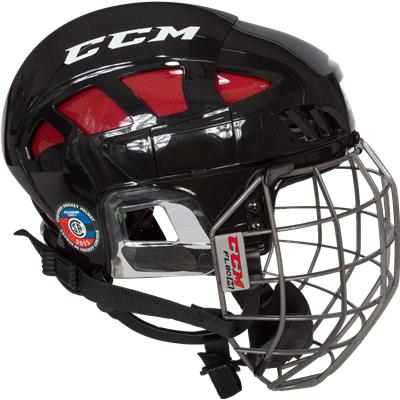 Side View (CCM Fitlite FL80 Hockey Helmet Combo)
