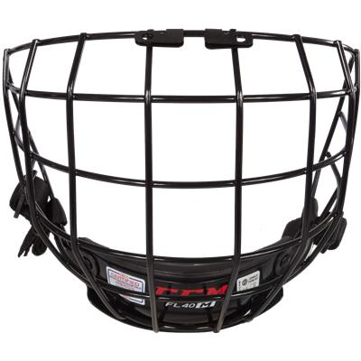 Front View (CCM Fitlite FL40 Hockey Helmet Facemask)