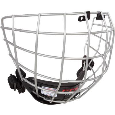 Silver (CCM Fitlite FL40 Hockey Helmet Facemask)