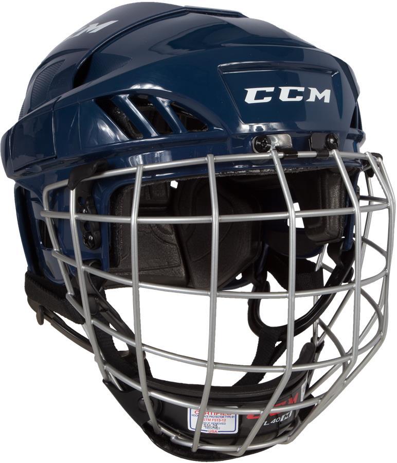 CCM FL40 Helmet Combo