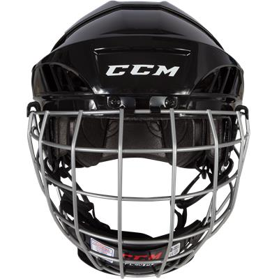 Front View (CCM Fitlite FL40 Hockey Helmet Combo)