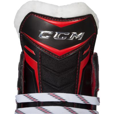 Outside Tongue View (CCM Jetspeed 280 Inline Skates)