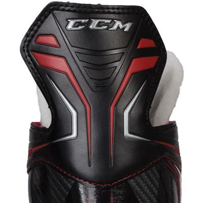 Zoomed Back View (CCM Jetspeed 280 Inline Skates)
