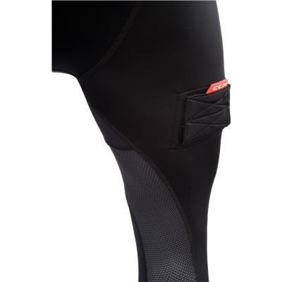 Leg View (CCM Compression Jock Pant w/ Grip)