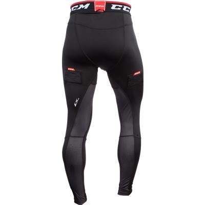 Back View (CCM Compression Jock Pants without Grip)