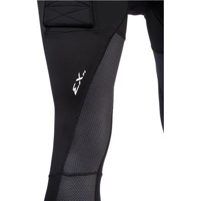 Leg View (CCM Compression Jock Pants without Grip)