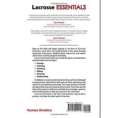 Back Of Book (Lacrosse Essentials)