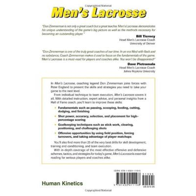 Back Cover (Men's Lacrosse)