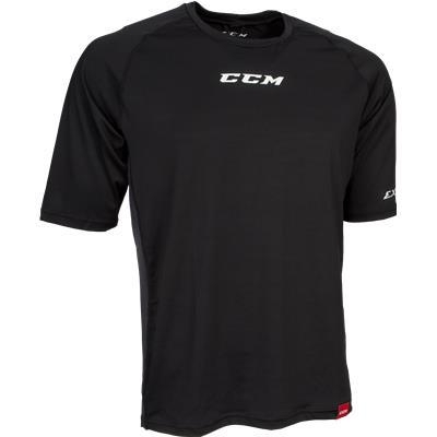 Black (CCM BodyFit Shirt - Adult)