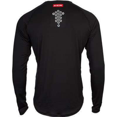 Back View (CCM BodyFit Long Sleeve Shirt)