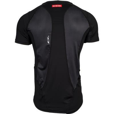 Back View (CCM Compression Shirt)