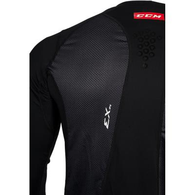 Shoulder View (CCM Long Sleeve Compression Shirt w/ Grip - Adult)